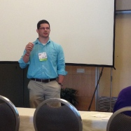 Me presenting on Flipped Learning.